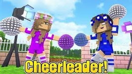 LITTLE CARLY BECOMES A CHEERLEADER!! (Minecraft Custom Roleplay)