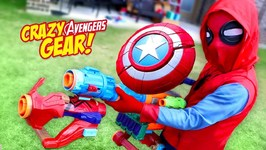 Avengers Infinity War Movie Nerf Gear Test And Toys Review