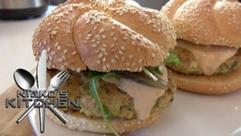 Bombay Chicken Burgers