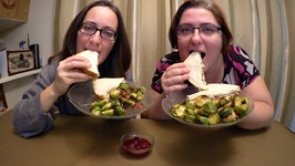 Tuna Sandwich And Bacon Brussel Sprouts / Gay Family Mukbang - Eating Show