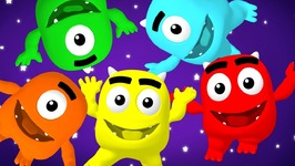 Five Little Monsters - Learn Numbers, Counting 1 To 5, Baby Song, Teach 123S For Children and Toddlers