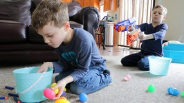 Nerf War - Easter Egg Hunt