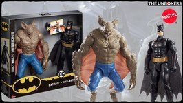 Batman Missions Battle of the Bats Figure Set with Batman & Man Bat