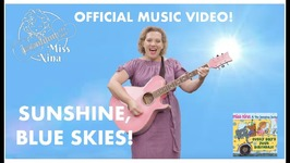 Childrens Spring Song- Sunshine Blue Skies - Official Music Video  - The Jumping Jacks