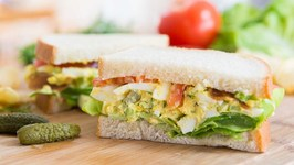 The Best Egg Salad Sandwiches