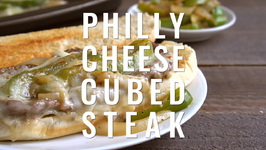 Philly Cheese Cubed Steak
