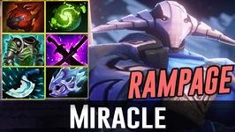 Miracle RAMPAGE SVEN Dota 2