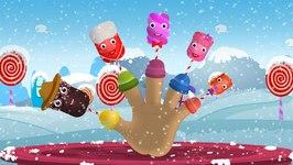 Finger Family Marshmallow - Finger Family - Rhymes