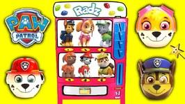 PAW PATROL Candy Machine Game w/ PAW PATROL Radz Candy  Surprise Toys