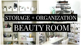 Beauty Room Storage And Organization