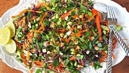 Side Dish Recipe- Asian Soba Noodle Salad