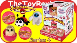 Full Case Surprizamals Series 4 Blind Bags Plush Surprise Animal Unboxing Toy Review