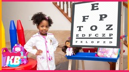 Doc Mcstuffins To The Rescue  Kb Dad Needs An Eye Checkup  Kyraboo Pretend Play