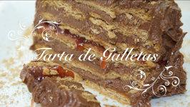 Tarta de Galletas y Chocolate para Cumpleaños - Tarta de Chocolate con Galletas - Tarta Sencilla