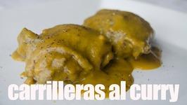 Carrilleras Al Curry, Receta Grabada Con Una Gopro