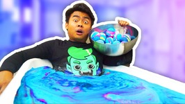 MONSTER EGG BATH BOMB CHALLENGE