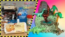 Last Minute Dinosaur Cake