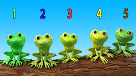 Five Little Speckled Frogs- Children's Popular Nursery Rhymes