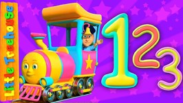 Number Train - Kindergarten Songs And Learning Videos For Kids