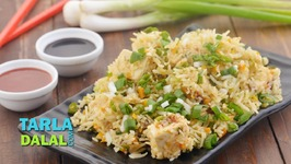 Paneer Fried Rice - Chinese Style Fried Rice