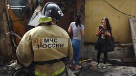 Fire Rips Through Russian Neighborhood Slated for World Cup Hotel