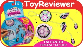 Beados Teeneez Enchanted Dream Catcher Theme Pack Aquabeads Unboxing Toy Review