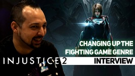 Loot grinding in INJUSTICE 2! Interview /w Derek Kirtzic