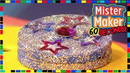 Fantastic Glittery Box - How To Make In 60 Seconds - Mister Maker
