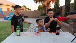 DRINK IT OR WEAR IT CHALLENGE! with Damian and Deion
