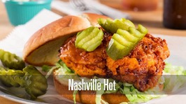 Nashville Hot! Spicy Fried Chicken Sandwich