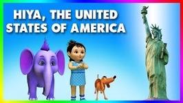 Hiya, The United States Of America - 4k