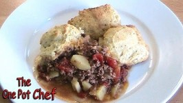 Beef With Savory Scones