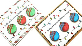 CHRISTMAS GREETING CARDS - MAYMAY MADE IT DESIGN TEAM PROJECT