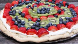 How to Make A Fruit Pizza (From Scratch)