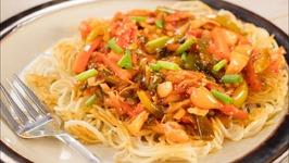 Chopsuey Recipe- Indian Style American Veg Chop Suey -Indo Chinese Recipe