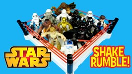Star Wars Toys Battle Royal With Huge Playskool Star Wars Toys Unboxing