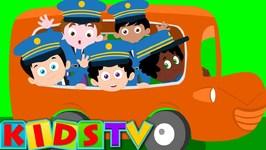 Five Bus Drivers - Nursery Rhymes For Kids - And Children Kids Tv Nursery Rhymes