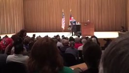 Georgia Senator Booed, Jeered at Town Hall