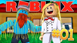 LITTLE KELLY VOTED BEST CHEIF IN HER RESTAURANT! - Sharky Gaming - Roblox