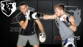 How to Hold Boxing Mitts for Fast, Long Combos With AJ Perez