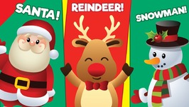 learn christmas vocabulary kids learning video