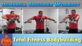 Full Shoulder Workout with Dumbbells at Home