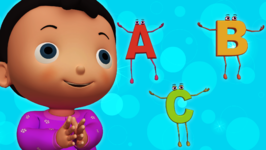 ABC Song  Popular Children's Nursery Rhymes