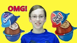 Cadbury Oreo Cookie And Chips Ahoy Chocolate Cream Eggs Candy Taste Test Review