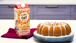 Planet Oat Oatmilk Bundt Cake With A Lemon Drizzle