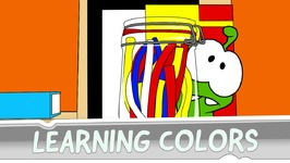 Learning Colors with Om Nom - Robo Friend