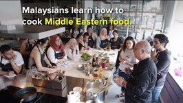 Syrian Refugee Chef Shares His Passion for Cooking in Kuala Lumpur