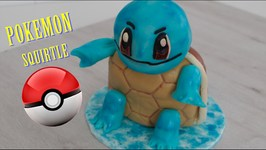 Como Hacer Tarta Pokemon Go (Squirtle) / Torta De Pokemon / Pastel De Pokemon / Tortas De Pokemon
