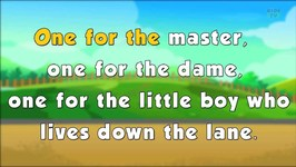 Karaoke Rhymes - Baa Baa Black Sheep - Nursery Rhyme Songs For Children - Rhymes