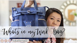 Back to School Edition - What is in My Work Commuter Bag
